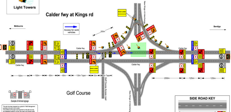 traffic management plan